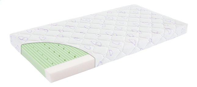 Image pour Träumeland Matelas pour lit de bébé fresh green Lg 60 x L 120 cm à partir de ColliShop