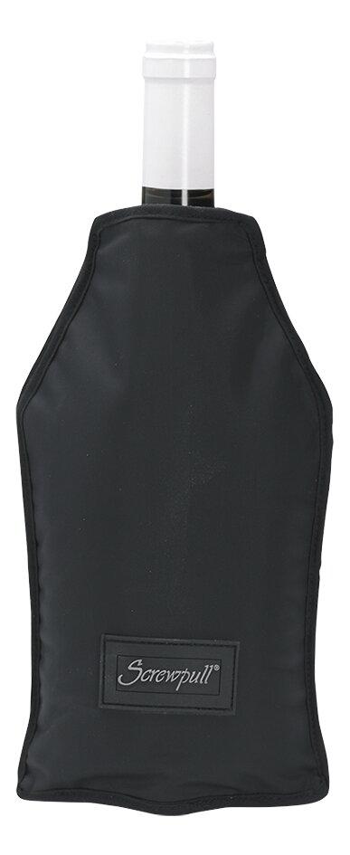 Afbeelding van Screwpull Wijn- en champagnekoeler zwart from ColliShop