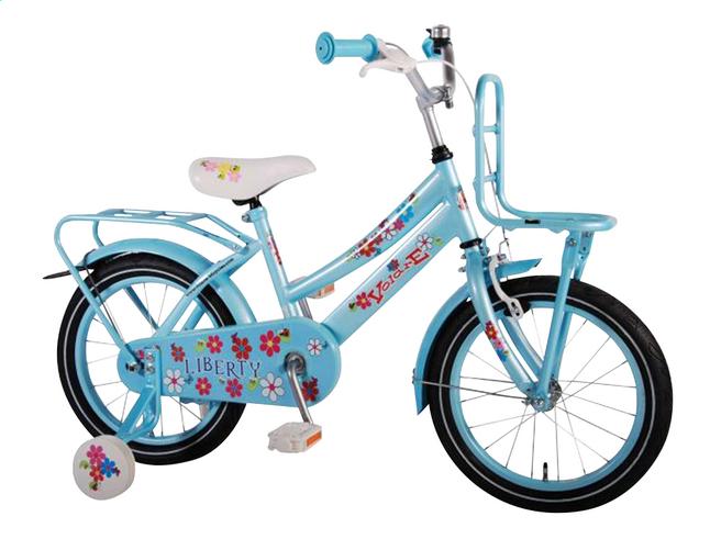 Afbeelding van Volare kinderfiets Liberty Urban Flowerie Ice Blue 16