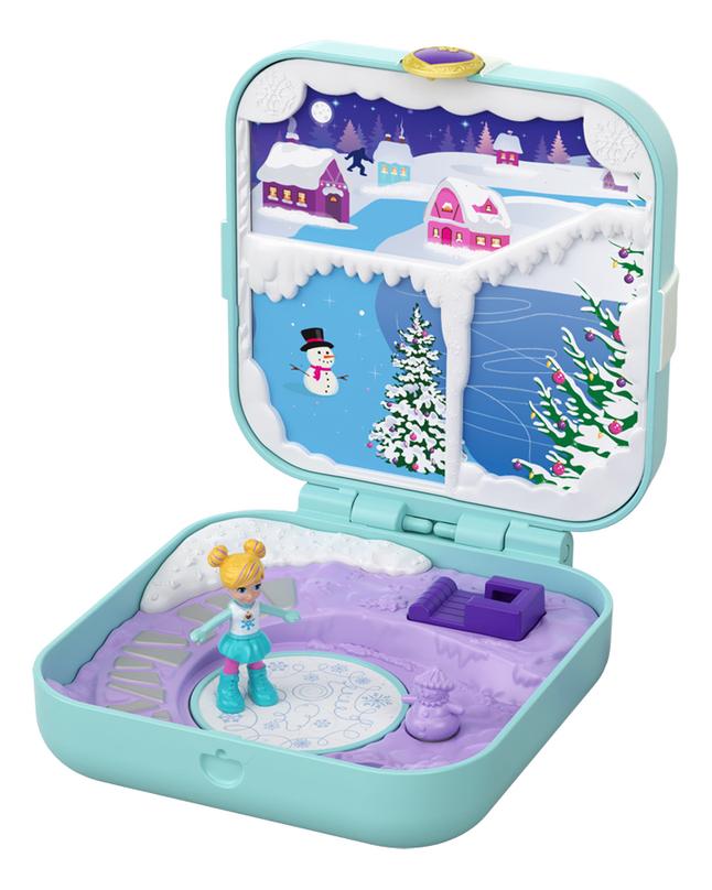 Afbeelding van Polly Pocket speelset Hidden Hideouts Frosty Fairytale from ColliShop
