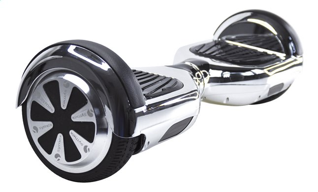 Afbeelding van Symex Hoverboard Balance Scooter zilver from ColliShop