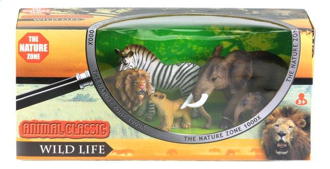 Afbeelding van Animal Classic dieren Wild Life Zebra from ColliShop