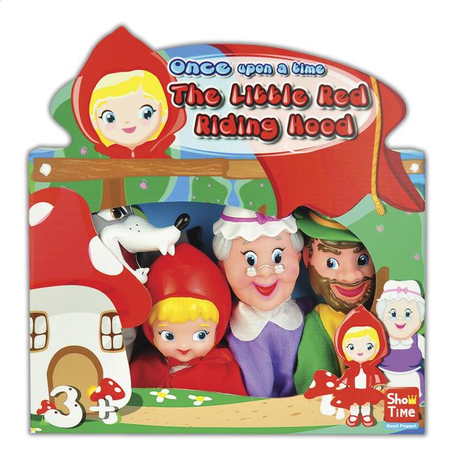 Image pour Set de 4 marionnettes Le Petit Chaperon Rouge à partir de ColliShop