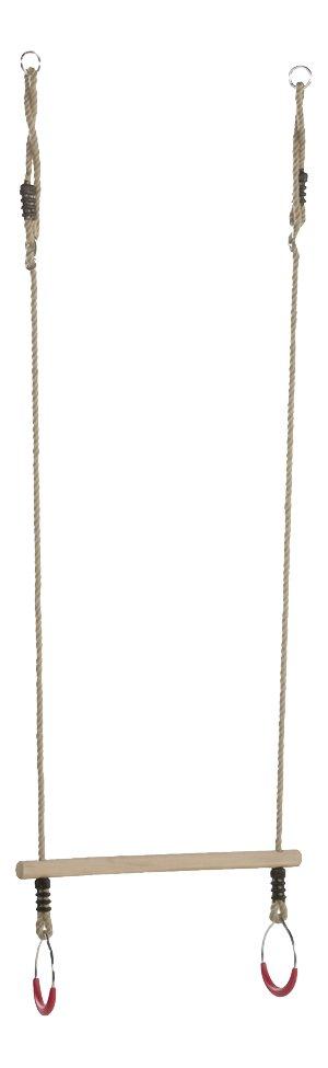 Image pour Trapèze en bois avec anneaux à partir de ColliShop