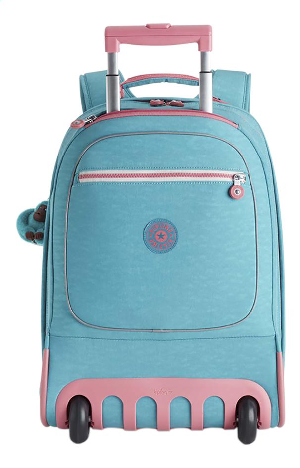Image pour Kipling sac à dos à roulettes Clas Soobin L Bright Aqua C à partir de ColliShop