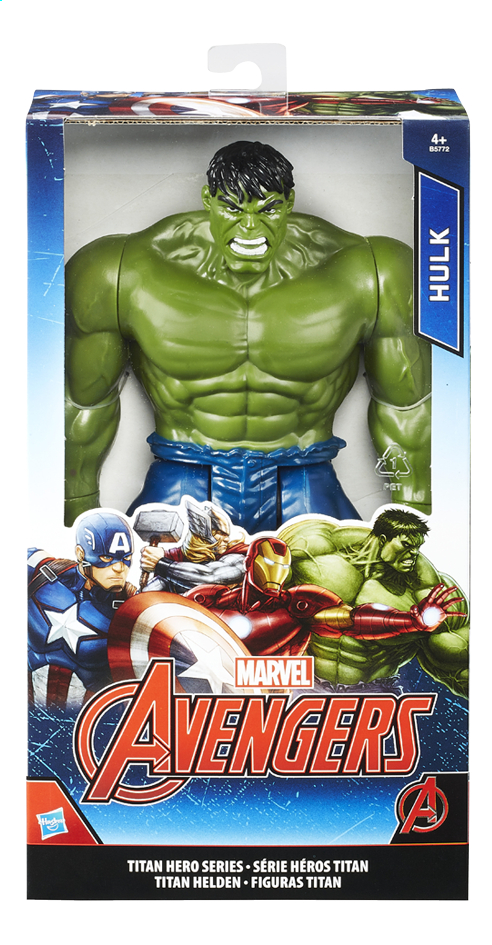 Afbeelding van Figuur Avengers Titan Hero Series Hulk from ColliShop