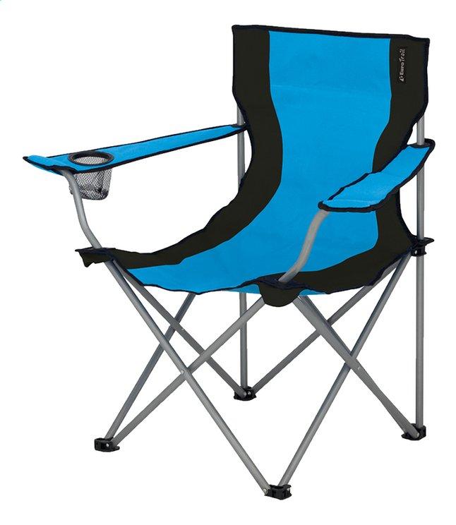 Image pour EuroTrail chaise de camping Lausanne azur/noir à partir de ColliShop