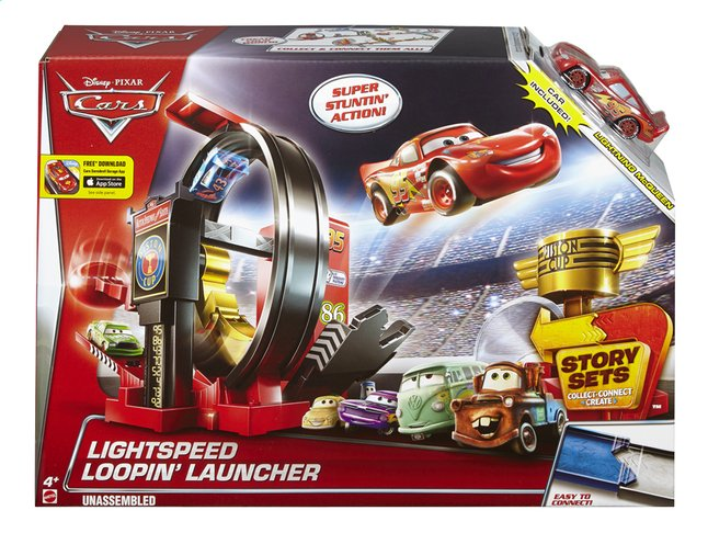 Image pour Set de jeu Disney Cars Lightspeed Loopin' Launcher à partir de ColliShop