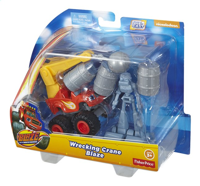 Afbeelding van Fisher-Price Speelset Blaze en de Monsterwielen Wrecking Crane Blaze from ColliShop