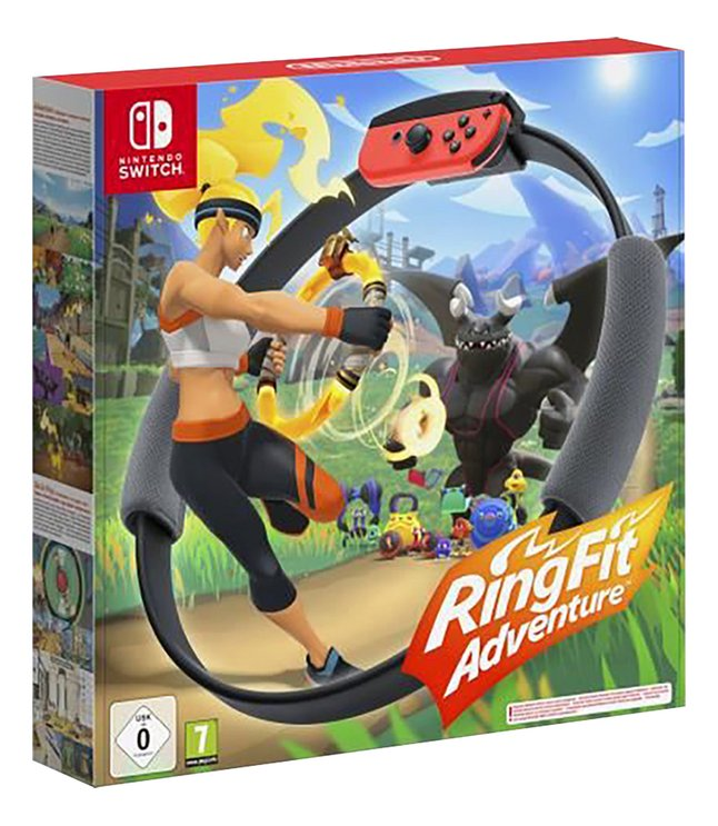 Afbeelding van Nintendo Switch Ring Fit Adventure ENG/FR from ColliShop