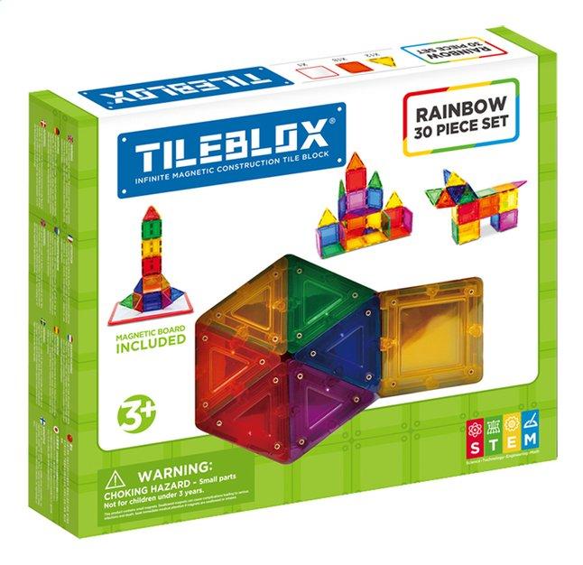 Afbeelding van Tileblox Rainbow 30 stukjes from ColliShop