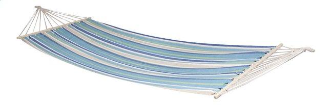 Afbeelding van Bo-Garden eenpersoonshangmat Samba blauw/beige from ColliShop