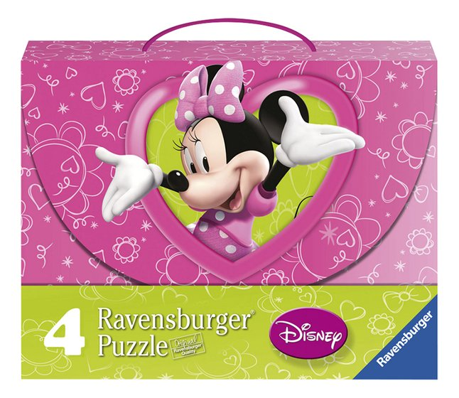 Afbeelding van Ravensburger 4-in-1 puzzel Minnie Mouse from ColliShop