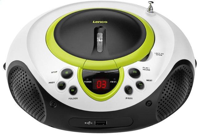 Afbeelding van Lenco draagbare radio/cd/mp3-speler SCD-38 groen from ColliShop