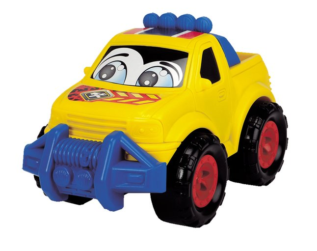Dickie Toys voiture Happy Runner jaune