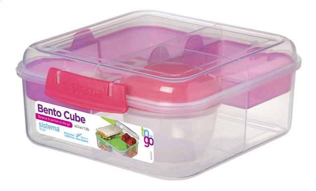 Afbeelding van Sistema Lunchbox To Go Bento Cube 1,25 l from ColliShop
