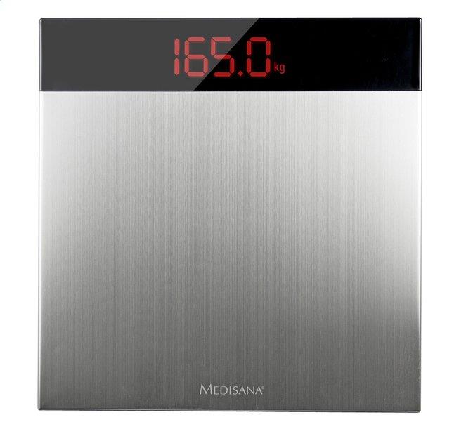 Afbeelding van Medisana Personenweegschaal XL PS 460 zwart/inox from ColliShop