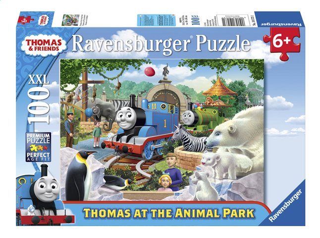 Afbeelding van Ravensburger XXL puzzel Thomas & Friends Dierenpark from ColliShop