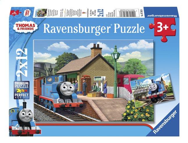 Afbeelding van Ravensburger puzzel 2-in-1 Thomas & Friends Thomas de locomotief from ColliShop