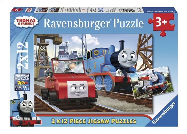 Afbeelding van Ravensburger puzzel 2-in-1 Thomas & Friends from ColliShop