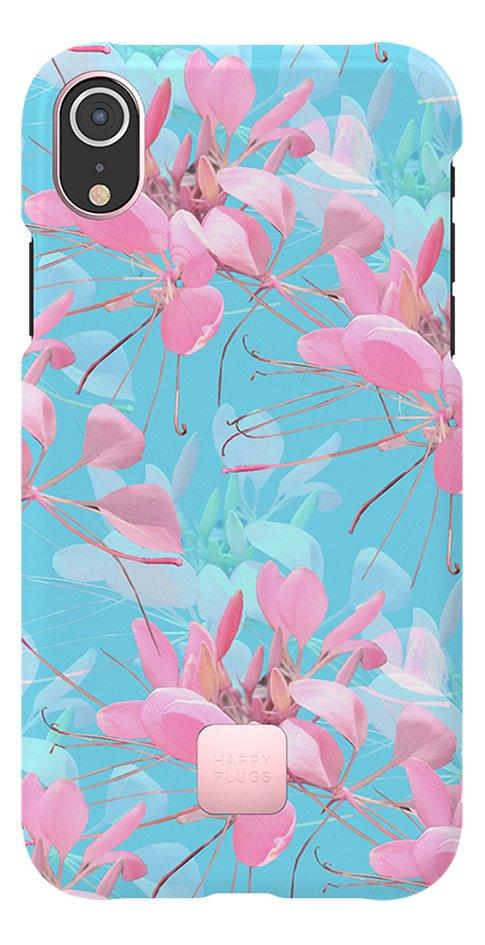 Afbeelding van Happy Plugs cover voor iPhone Xr Botanica Exotica from ColliShop