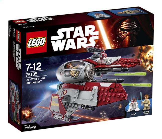 Image pour LEGO Star Wars 75135 Obi-Wan's Jedi Interceptor à partir de ColliShop