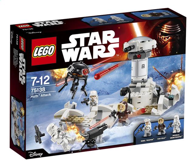 Image pour LEGO Star Wars 75138 Hoth Attack à partir de ColliShop