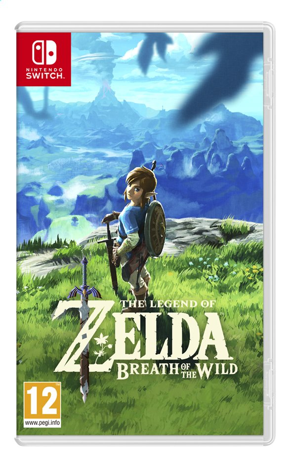 Afbeelding van Nintendo Switch The Legend of Zelda Breath of the Wild ENG from ColliShop