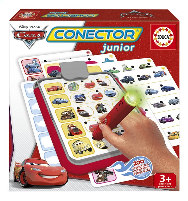Image pour Conector Junior Disney Cars à partir de ColliShop