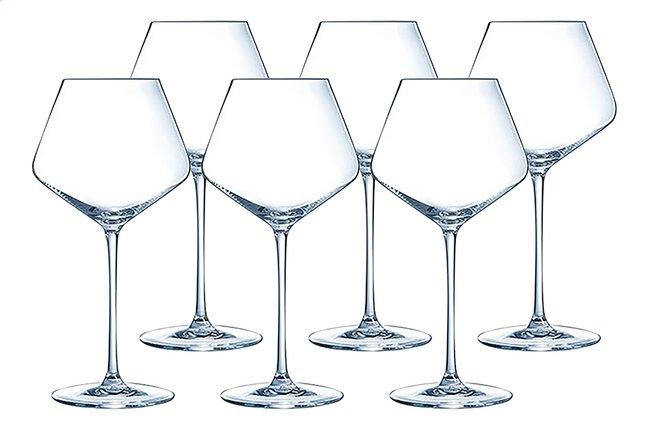 Image pour Eclat Cristal d'Arques Paris 6 verres à vin rouge Ultime 52 cl à partir de ColliShop