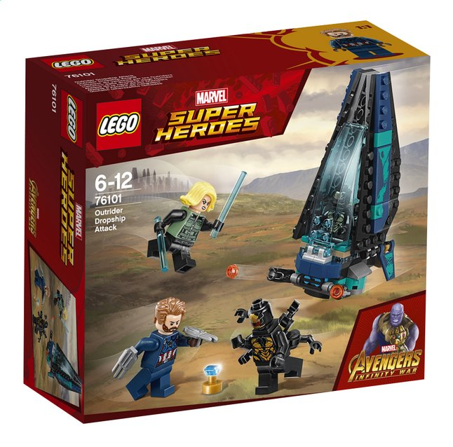 Afbeelding van LEGO Super Heroes 76101 Outrider shuttle aanval from ColliShop