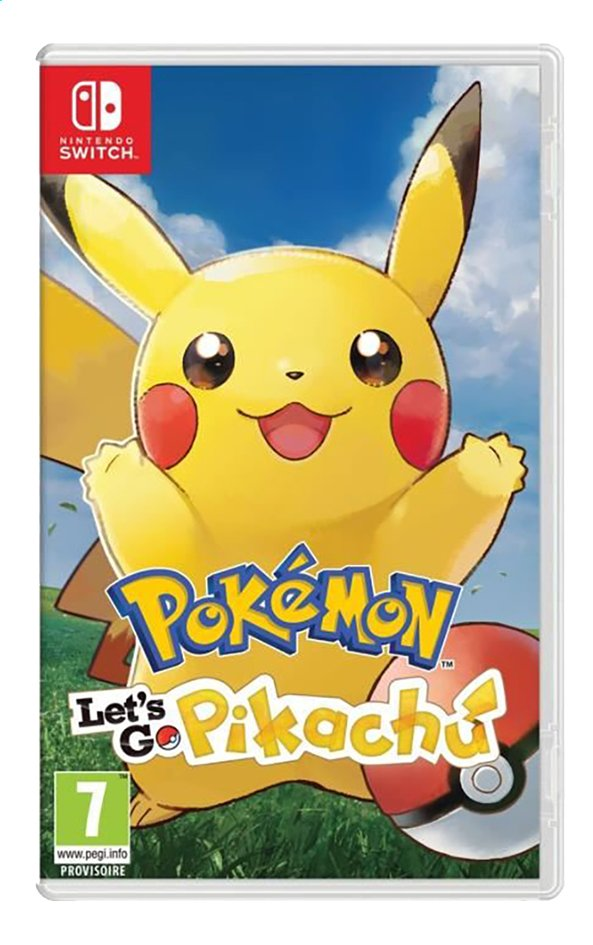 Afbeelding van Nintendo Switch Pokémon Let's Go Pikachu ENG from ColliShop