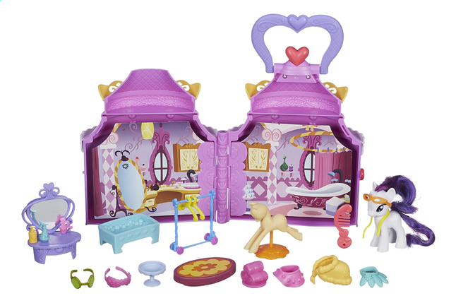 Afbeelding van My Little Pony speelset Cutie mark magic Rarity's booktique from ColliShop