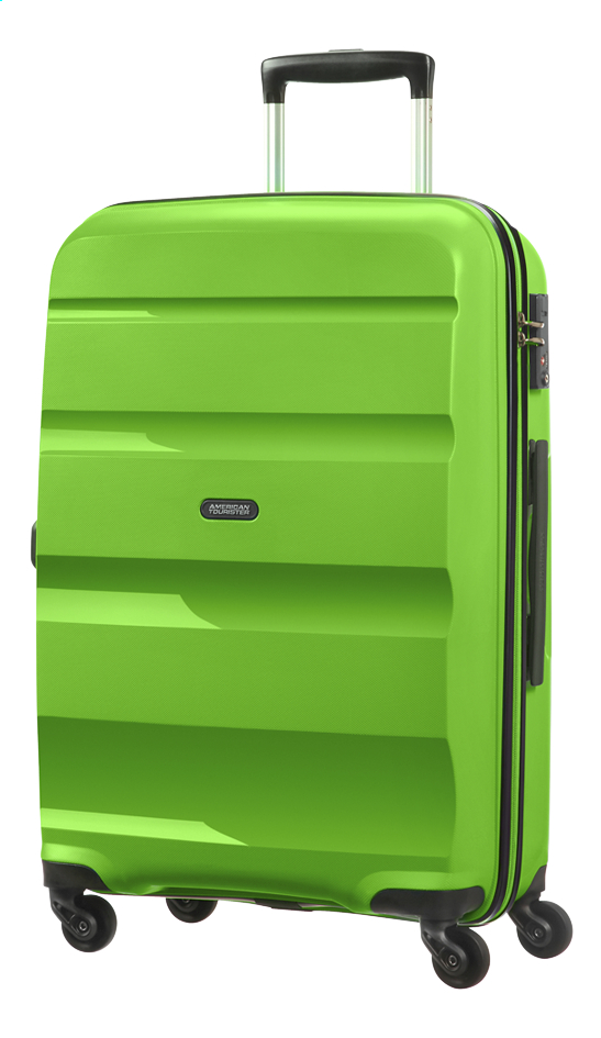 Afbeelding van American Tourister Harde reistrolley Bon Air Spinner pop green 66 cm from ColliShop