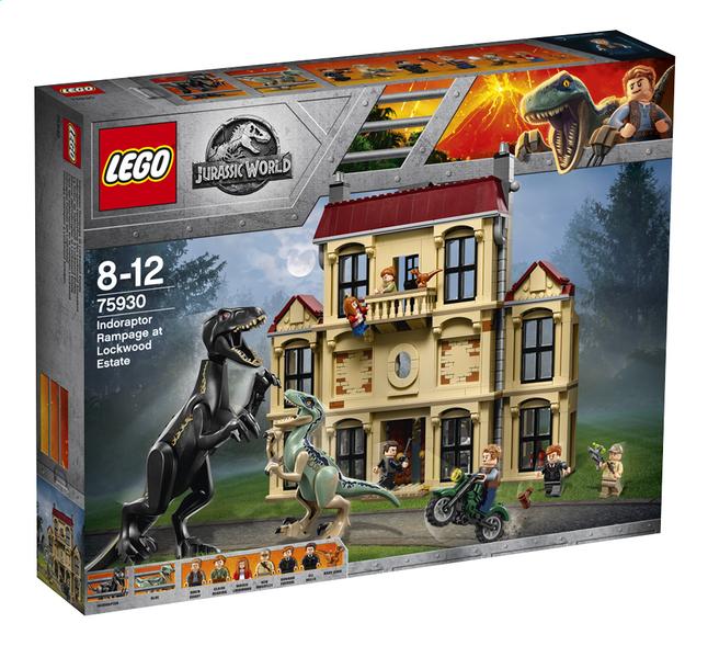 Afbeelding van LEGO Jurassic World 75930 Indoraptorchaos bij Lockwood Estate from ColliShop