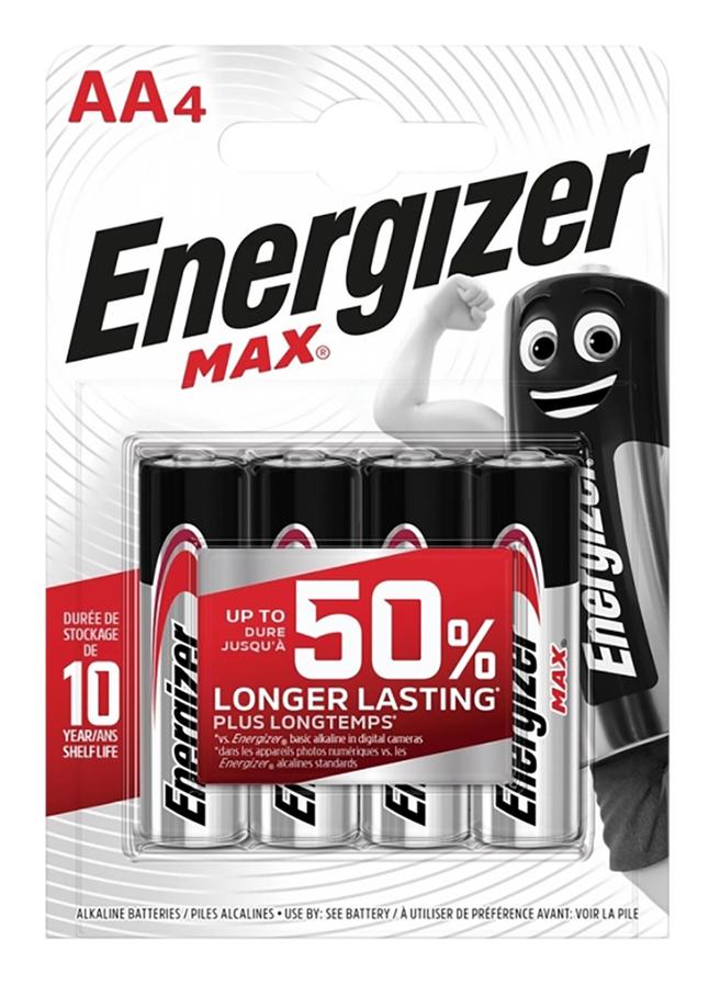 Afbeelding van Energizer Max AA-batterij - 4 stuks from ColliShop