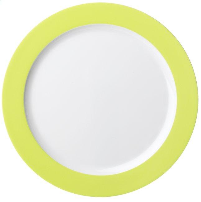 Afbeelding van Rosti Mepal 6 platte borden 26 cm lime from ColliShop