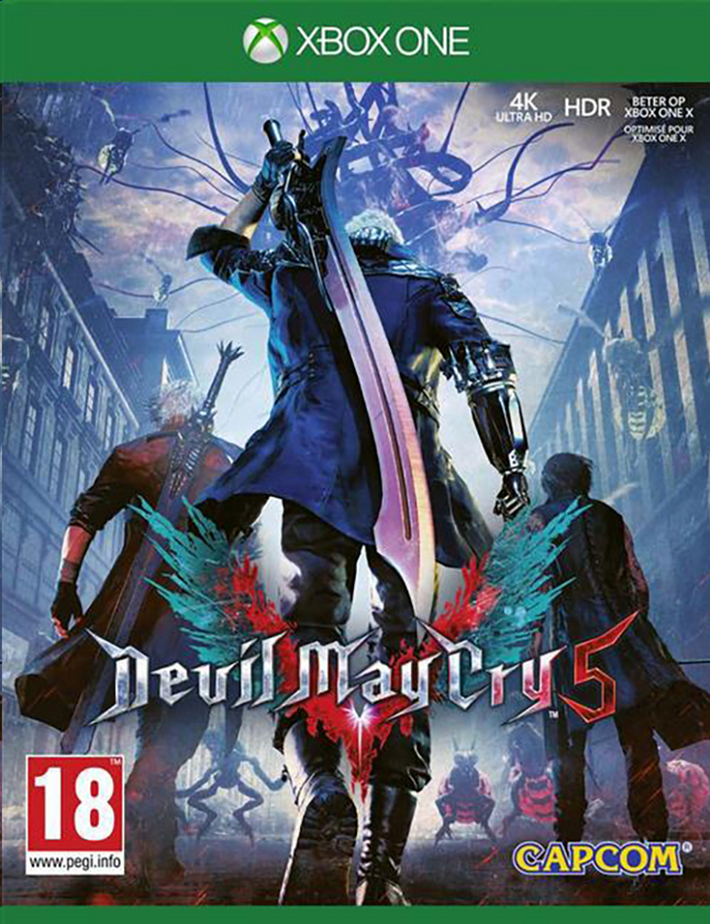 Xbox One Devil May Cry 5 FR/ANG