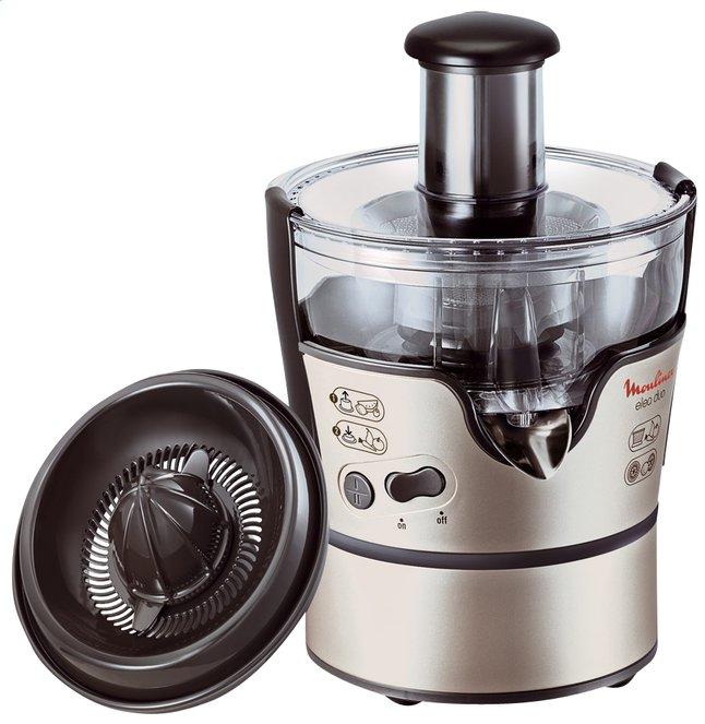 Image pour Moulinex centrifugeuse Elea Duo Sil.JU385 - 300 W à partir de ColliShop