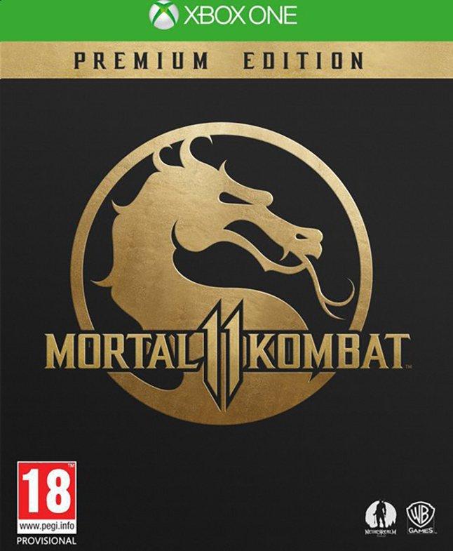 Image pour Xbox One Mortal Kombat 11 Premium Edition FR/NL à partir de ColliShop