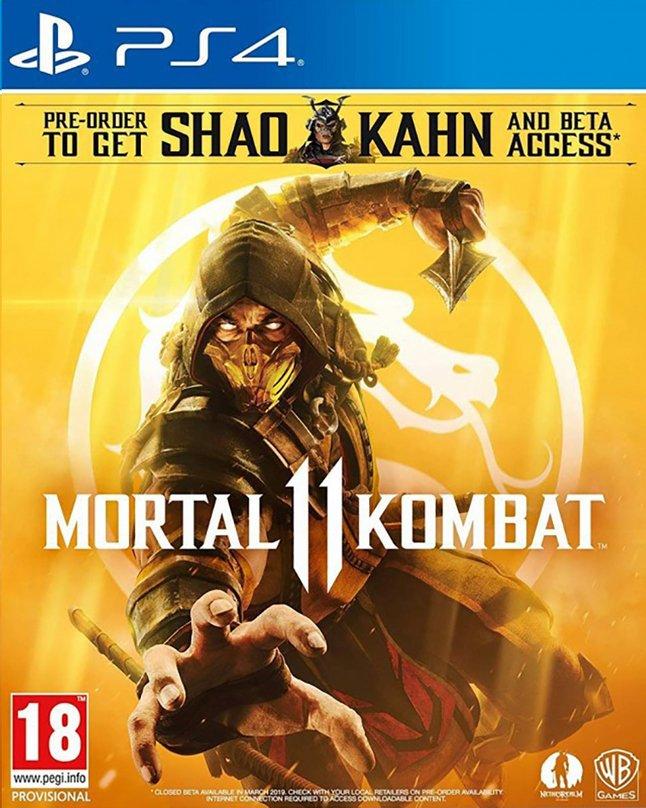 Image pour PS4 Mortal Kombat 11 FR/ANG à partir de ColliShop