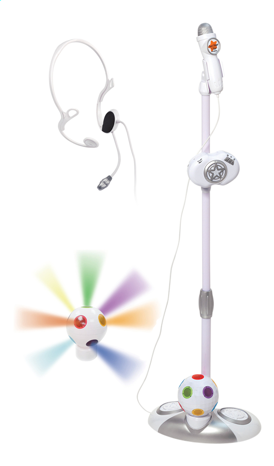 Afbeelding van Microfoon op staander Duet Disco from ColliShop