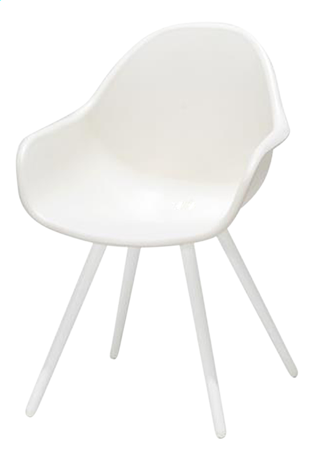 Chaise de jardin Geneva blanc
