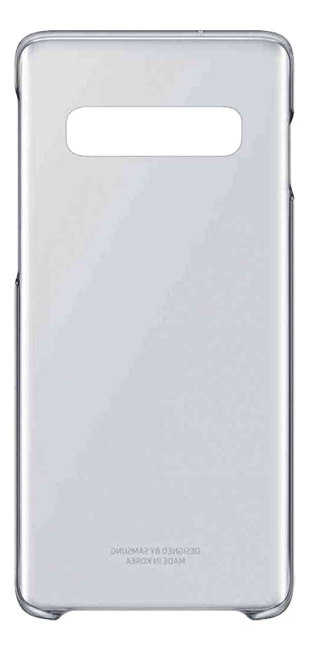Samsung coque Clear Cover pour Galaxy S10 transparent