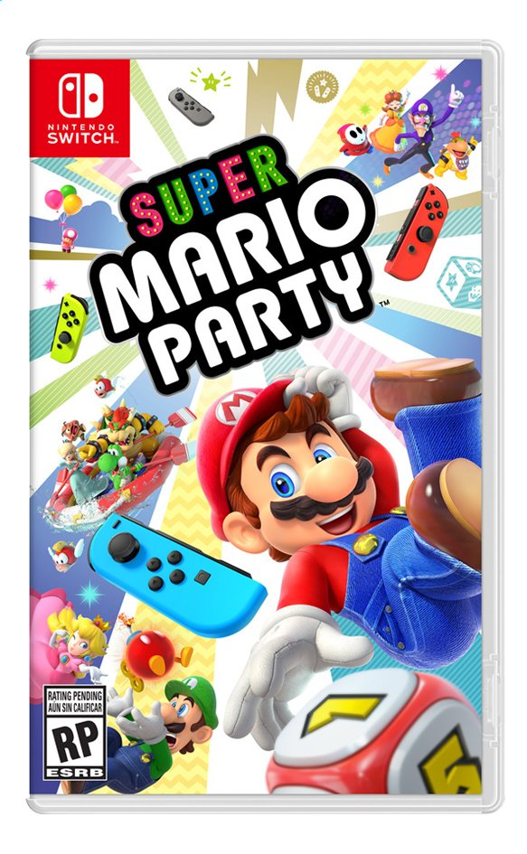 Afbeelding van Nintendo Switch Super Mario Party NL from ColliShop