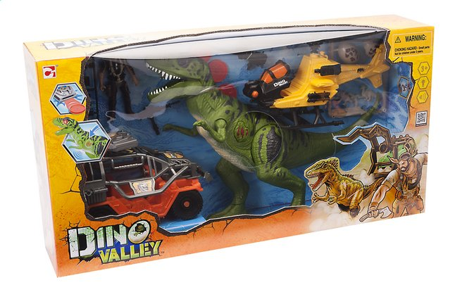 Afbeelding van Speelset Dino Valley Giant T-Rex attack from ColliShop
