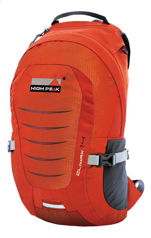 High Peak sac à dos de randonnée Climax 14 Orange