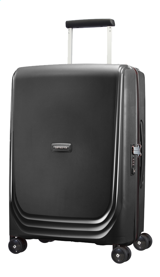 Image pour Samsonite Valise rigide Optic Spinner metallic black à partir de ColliShop