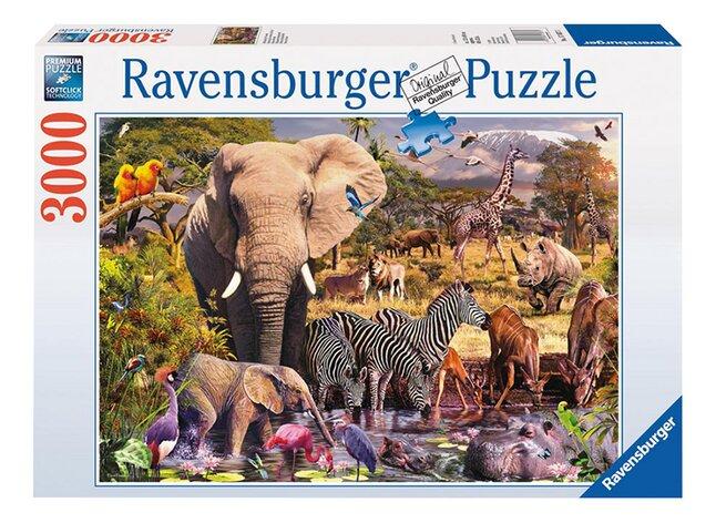 Afbeelding van Ravensburger puzzel Afrikaanse dierenwereld from ColliShop