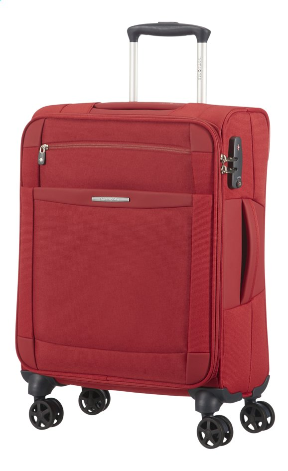 Image pour Samsonite Valise souple Dynamo Spinner red 55 cm à partir de ColliShop
